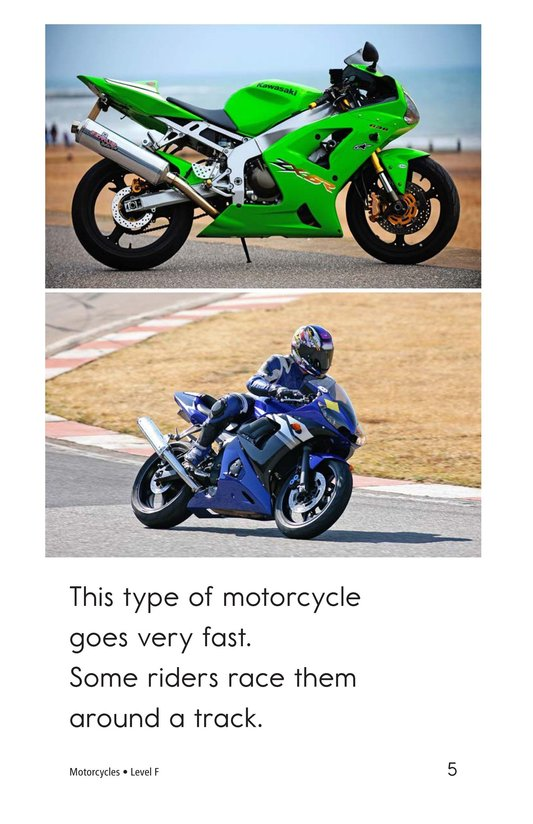 Book Preview For Motorcycles Page 5