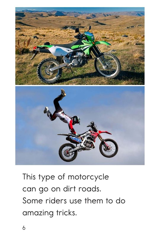 Book Preview For Motorcycles Page 6