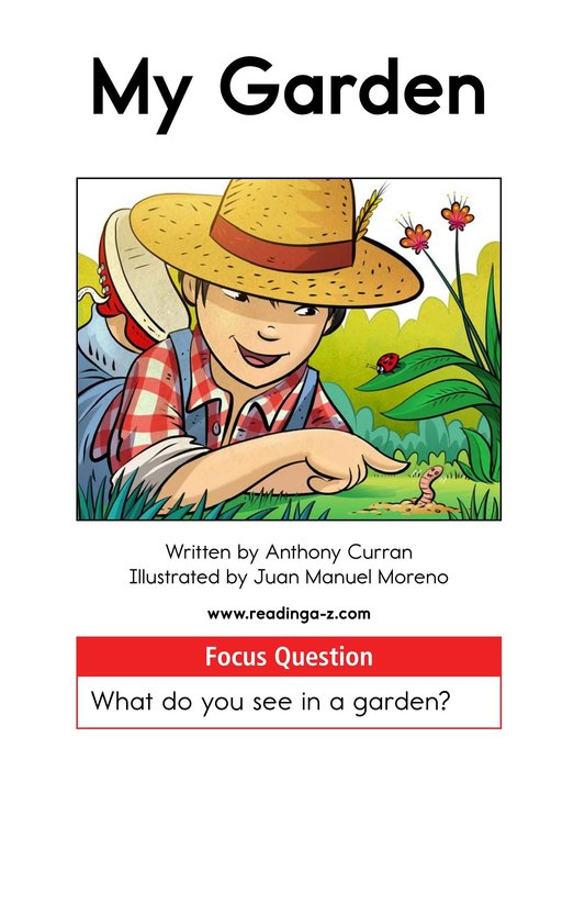 Book Preview For My Garden Page 1