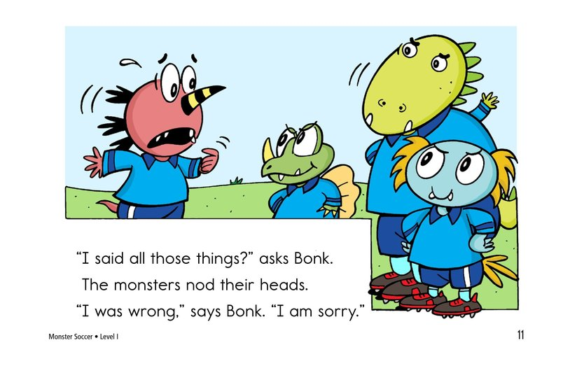 Book Preview For Monster Soccer Page 11