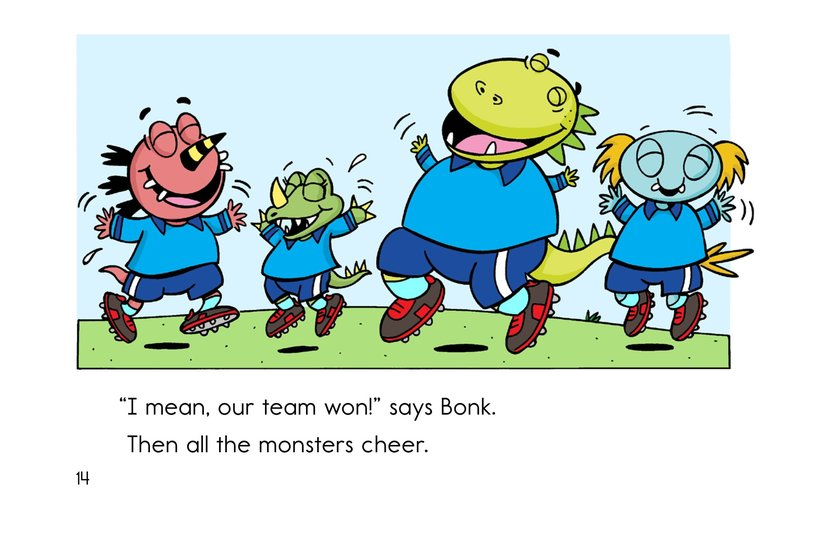 Book Preview For Monster Soccer Page 14