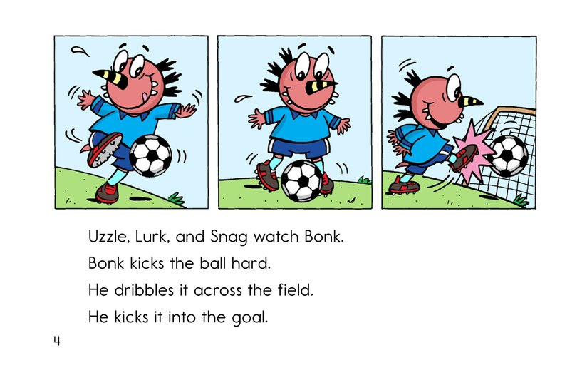 Book Preview For Monster Soccer Page 4