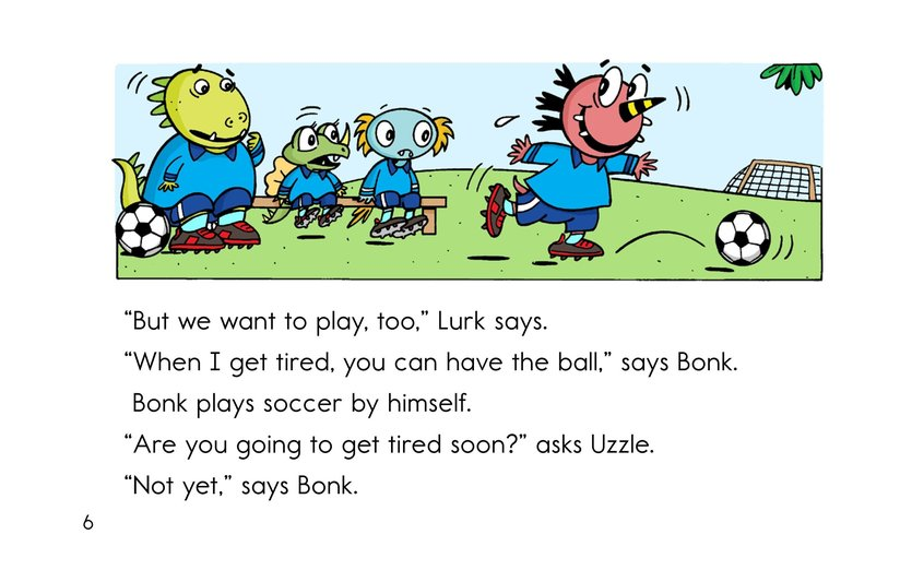 Book Preview For Monster Soccer Page 6