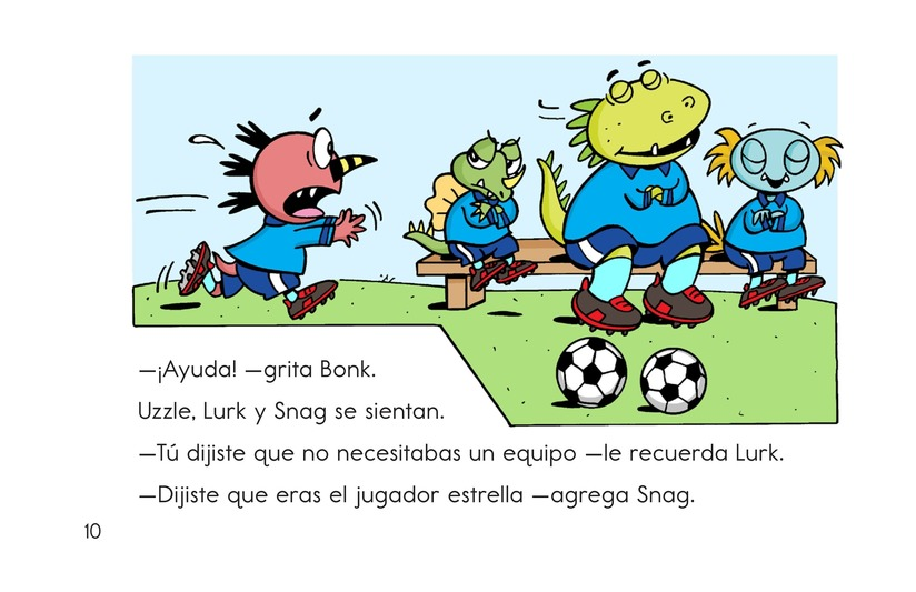 Book Preview For Monster Soccer Page 10