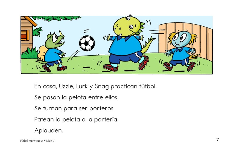 Book Preview For Monster Soccer Page 7