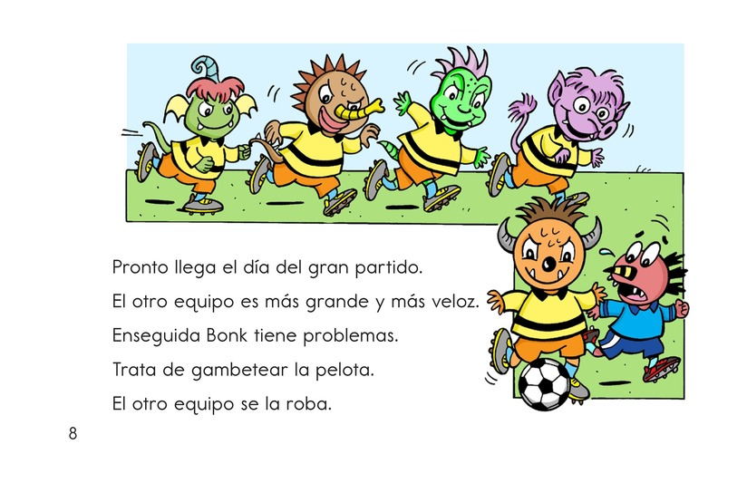Book Preview For Monster Soccer Page 8