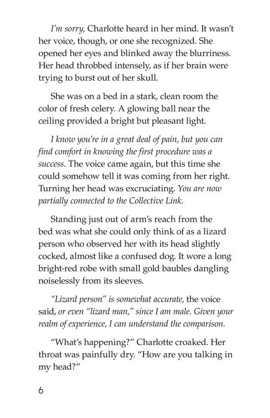 Book Preview For Alien Collective I: Resistance Page 6