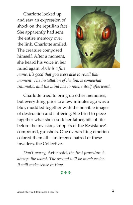 Book Preview For Alien Collective I: Resistance Page 9
