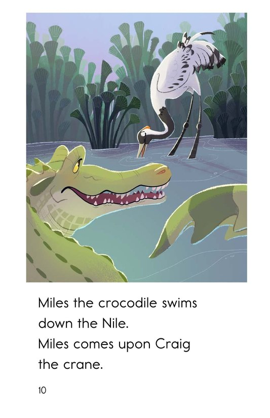 Book Preview For Miles the Nile Crocodile Page 10