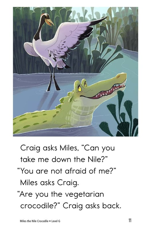 Book Preview For Miles the Nile Crocodile Page 11