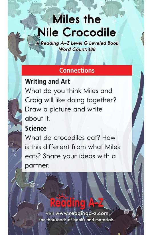 Book Preview For Miles the Nile Crocodile Page 13