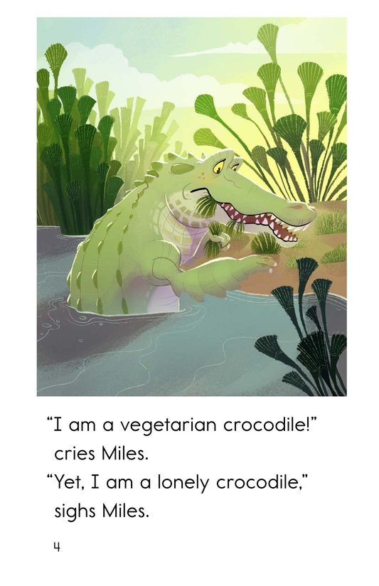 Book Preview For Miles the Nile Crocodile Page 4
