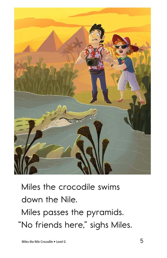 Book Preview For Miles the Nile Crocodile Page 5
