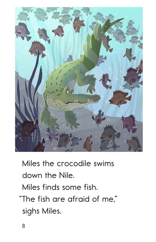 Book Preview For Miles the Nile Crocodile Page 8