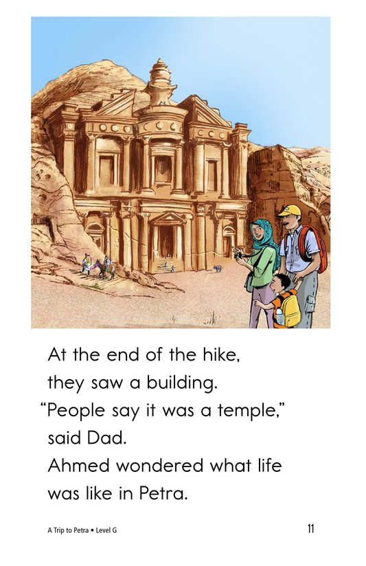Book Preview For A Trip to Petra Page 11