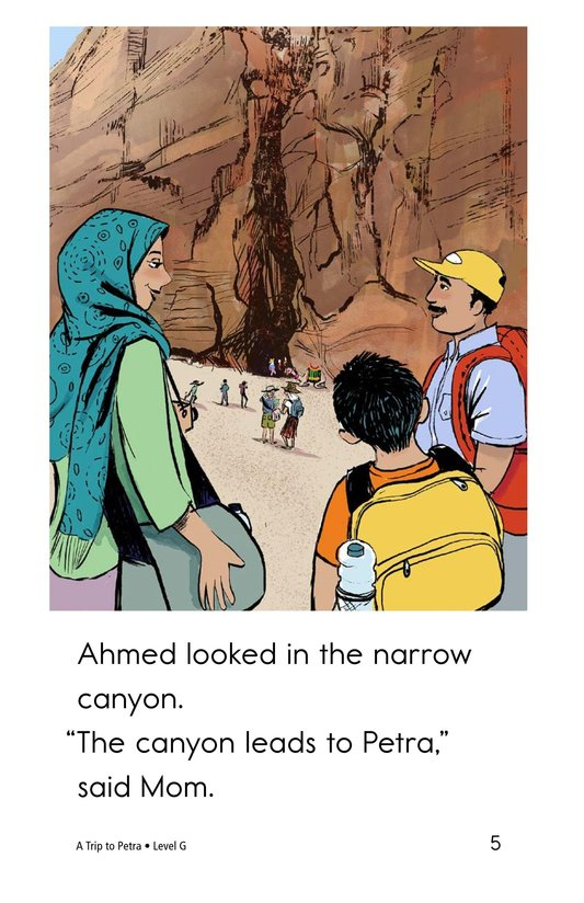 Book Preview For A Trip to Petra Page 5