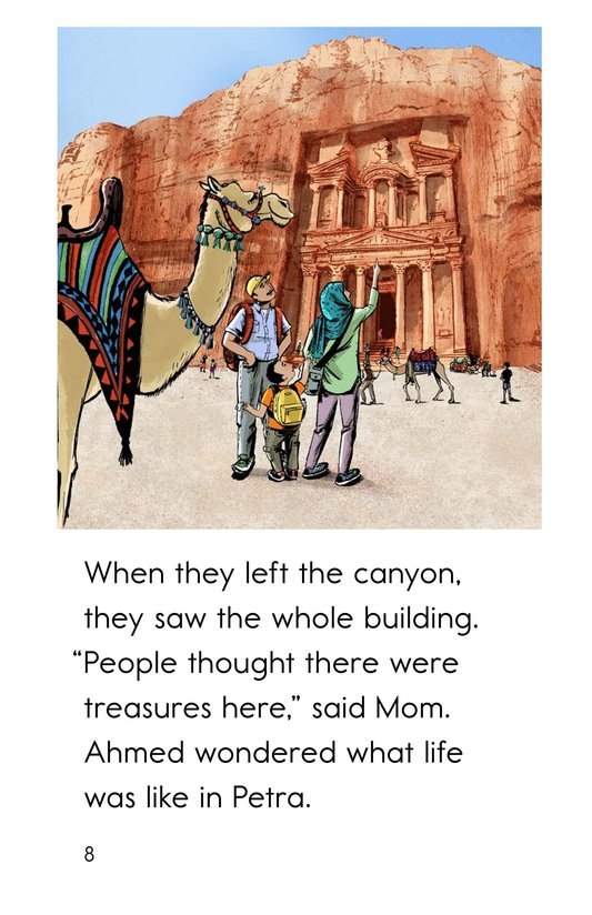 Book Preview For A Trip to Petra Page 8