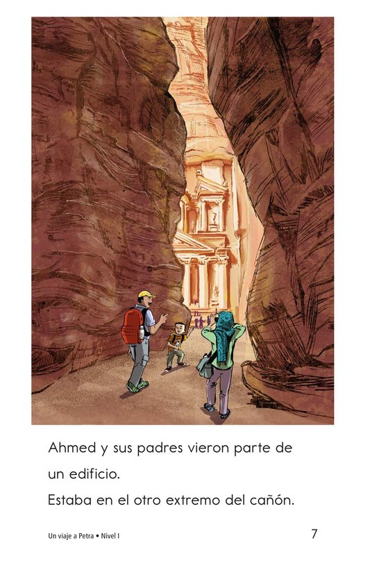 Book Preview For A Trip to Petra Page 7