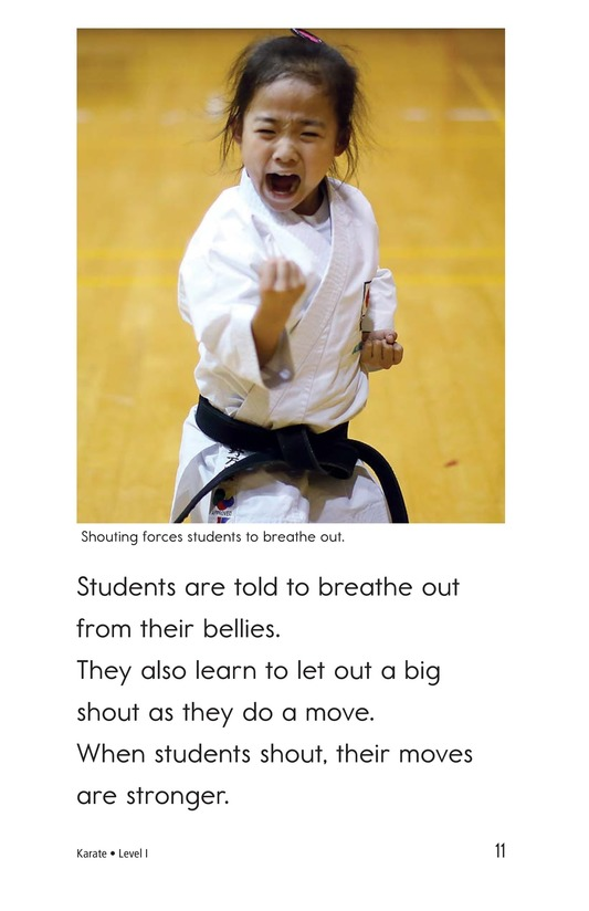 Book Preview For Karate Page 11