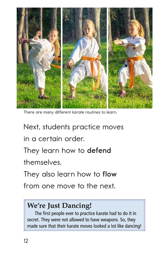Book Preview For Karate Page 12