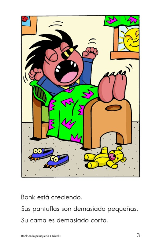 Book Preview For Bonk at the Barbershop Page 3