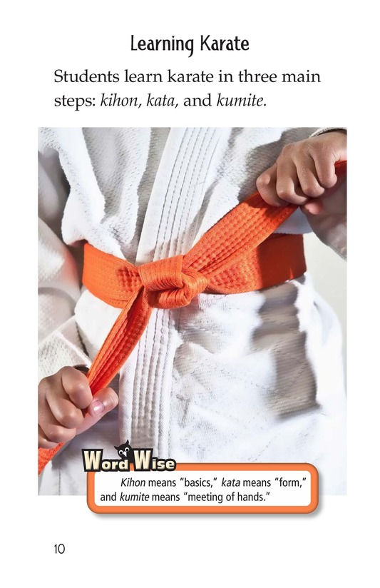 Book Preview For Karate Page 10