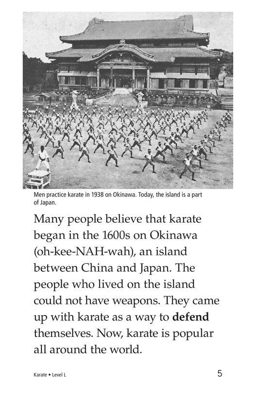 Book Preview For Karate Page 5