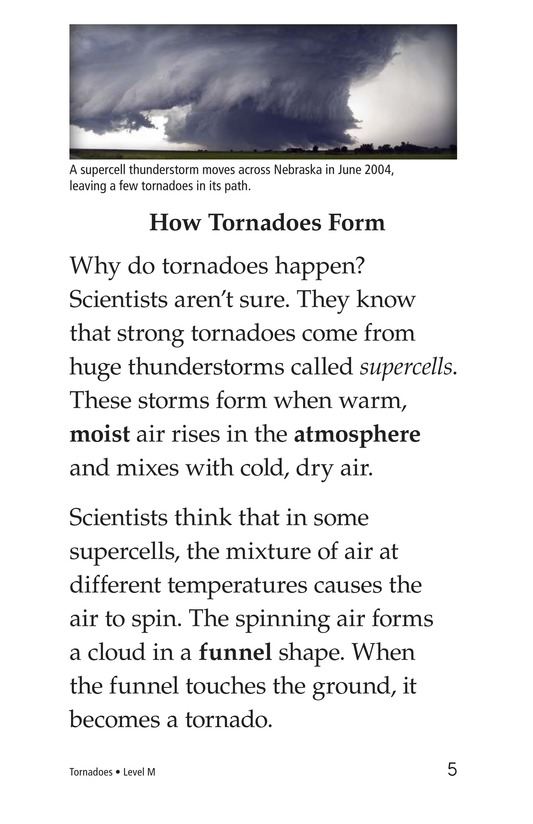 Book Preview For Tornadoes Page 5