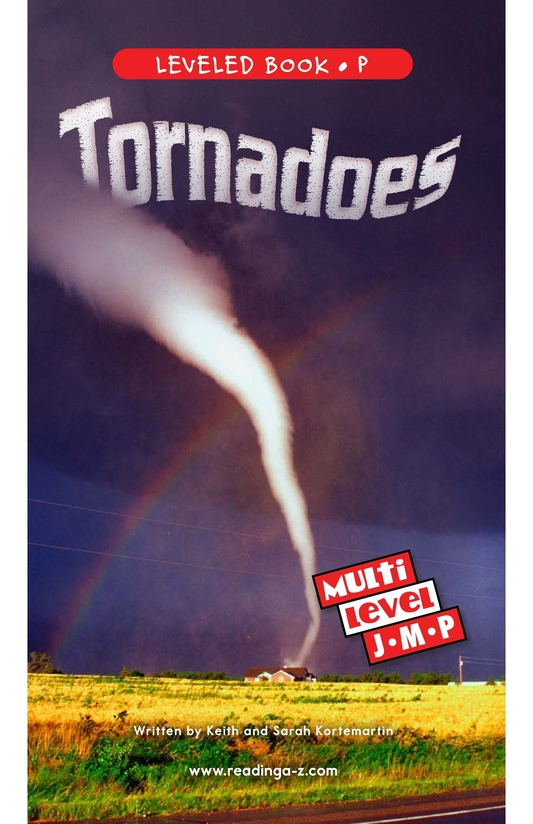 Book Preview For Tornadoes Page 0