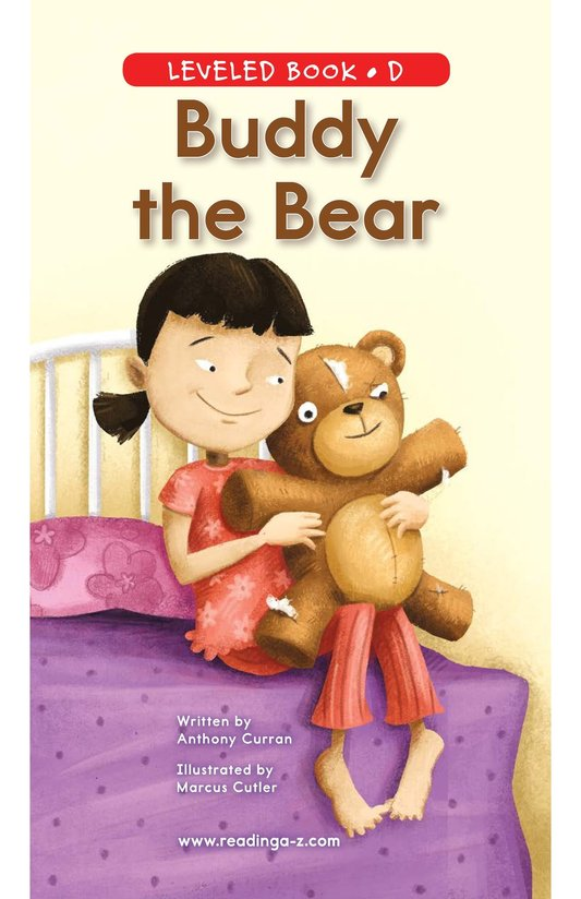 Book Preview For Buddy the Bear Page 0