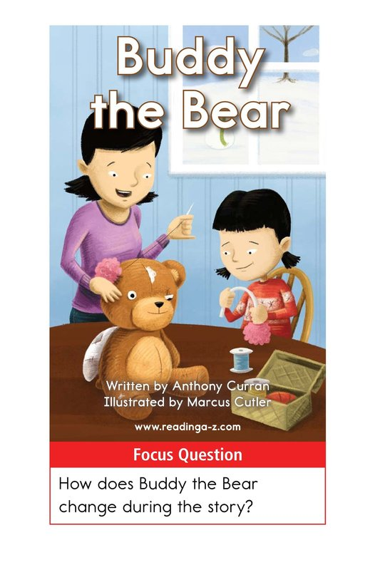 Book Preview For Buddy the Bear Page 1