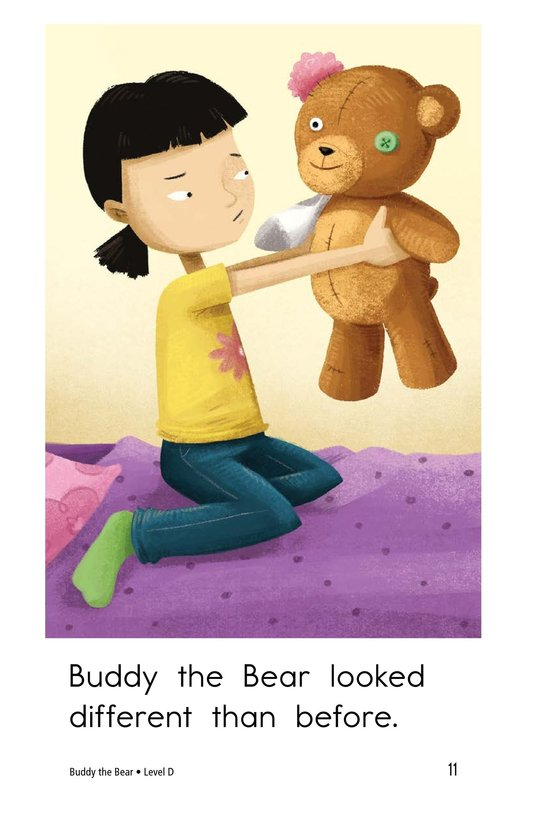 Book Preview For Buddy the Bear Page 11
