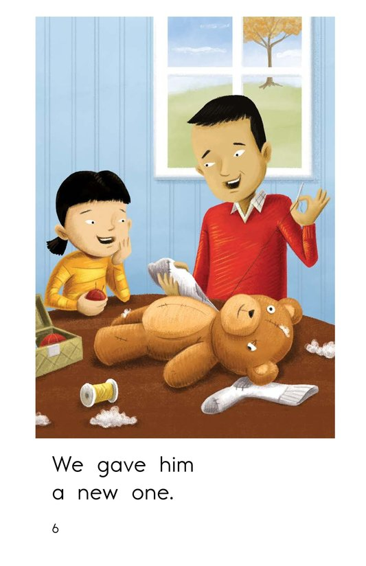 Book Preview For Buddy the Bear Page 6