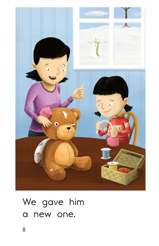 Book Preview For Buddy the Bear Page 8