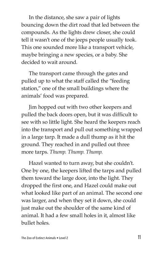 Book Preview For The Zoo of Extinct Animals Page 11