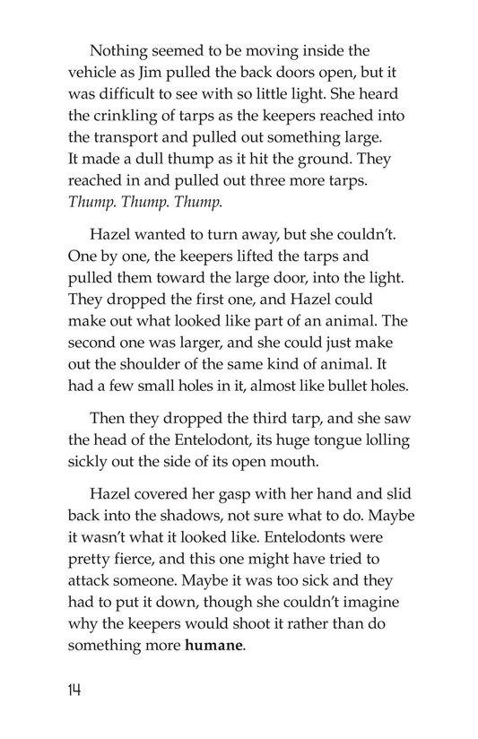 Book Preview For The Zoo of Extinct Animals Page 14