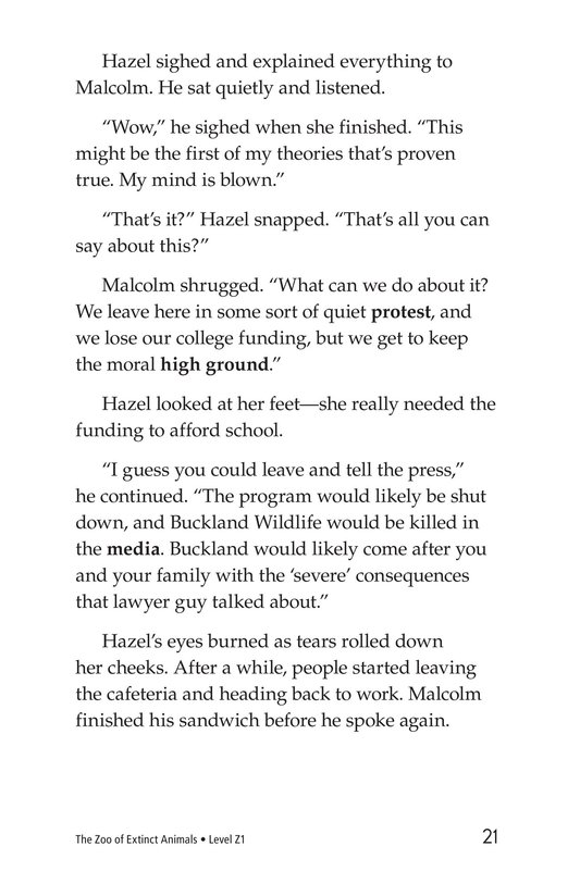 Book Preview For The Zoo of Extinct Animals Page 21