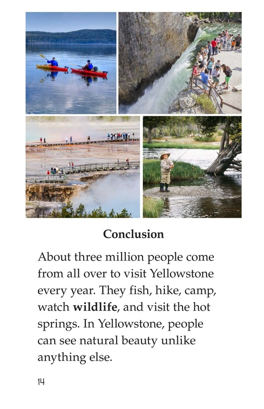 Book Preview For Yellowstone: A Place of Wild Wonders Page 14