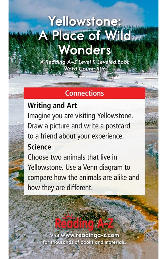 Book Preview For Yellowstone: A Place of Wild Wonders Page 17