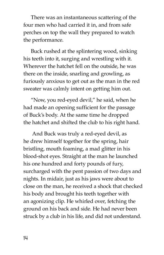 Book Preview For The Call of the Wild (Part 1) Page 14