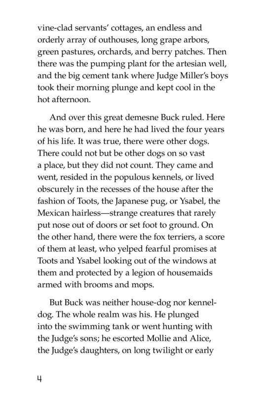 Book Preview For The Call of the Wild (Part 1) Page 4