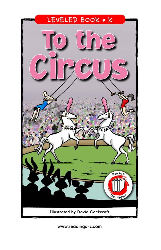 Book Preview For To the Circus Page 1