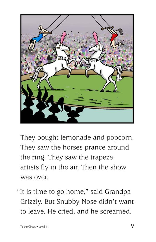 Book Preview For To the Circus Page 9