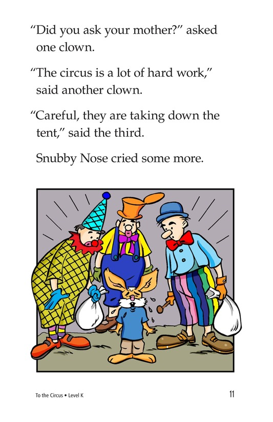 Book Preview For To the Circus Page 11