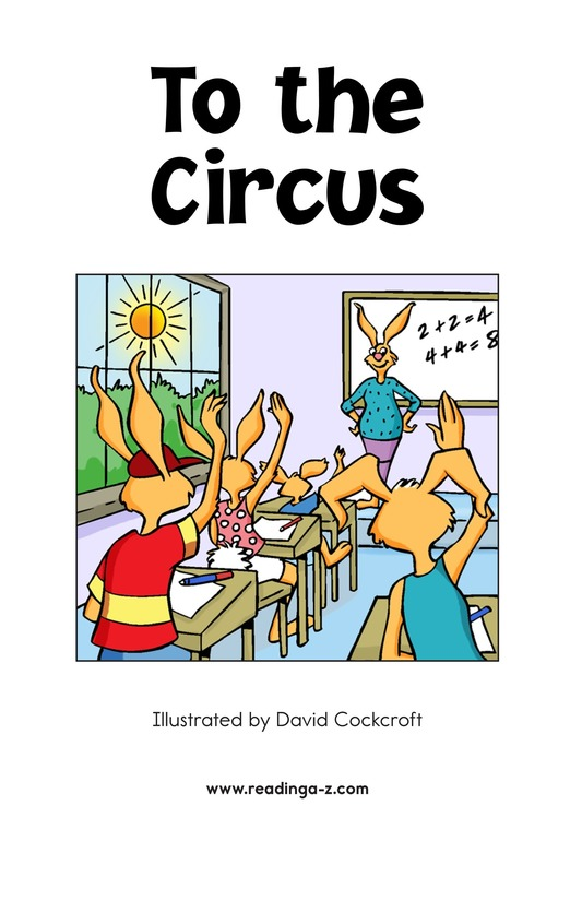 Book Preview For To the Circus Page 2