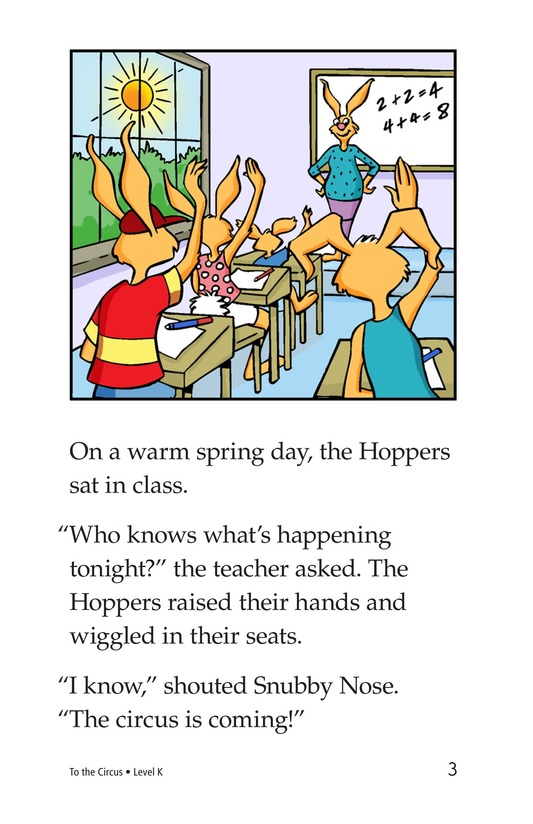 Book Preview For To the Circus Page 3