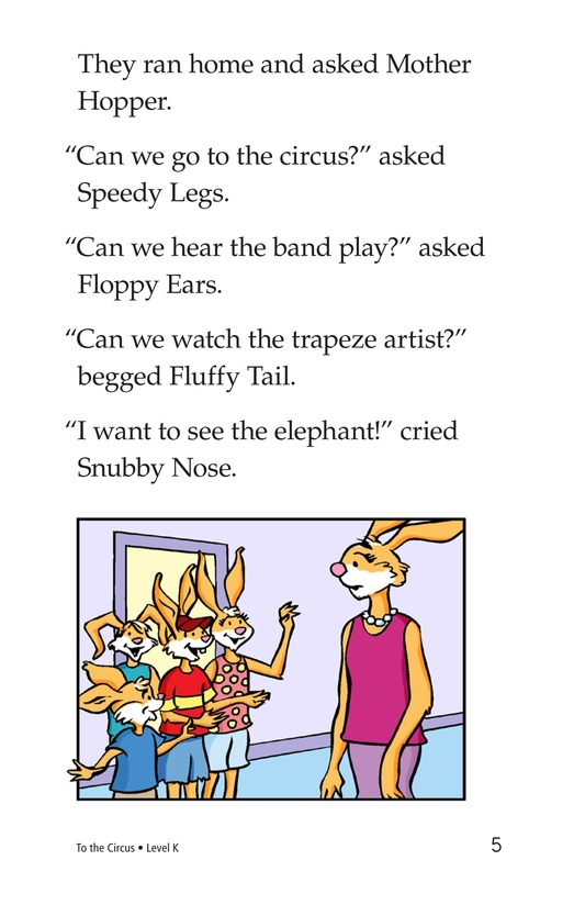 Book Preview For To the Circus Page 5