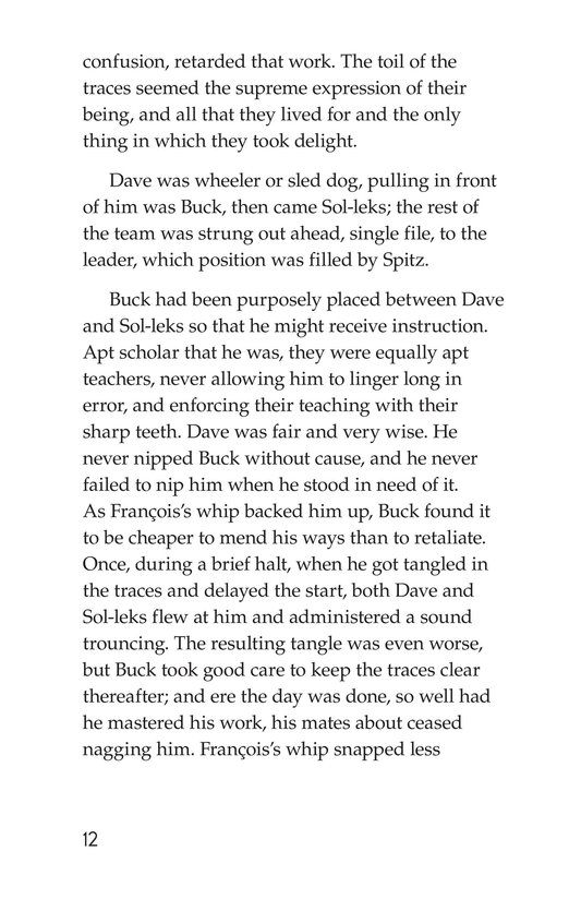 Book Preview For The Call of the Wild (Part 2) Page 12
