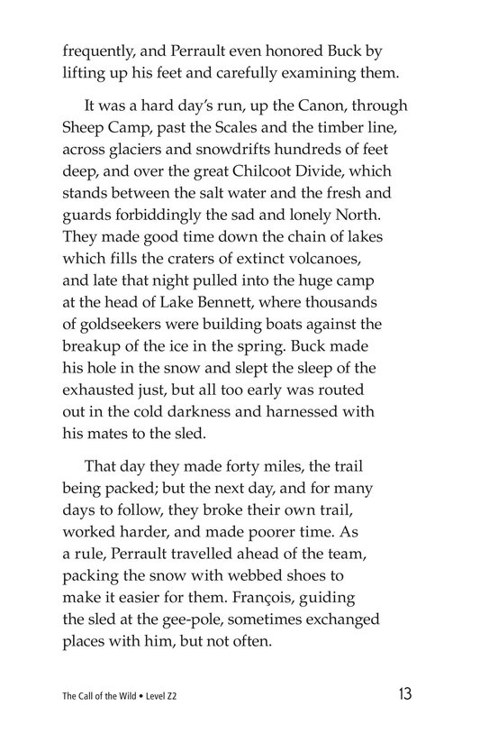Book Preview For The Call of the Wild (Part 2) Page 13