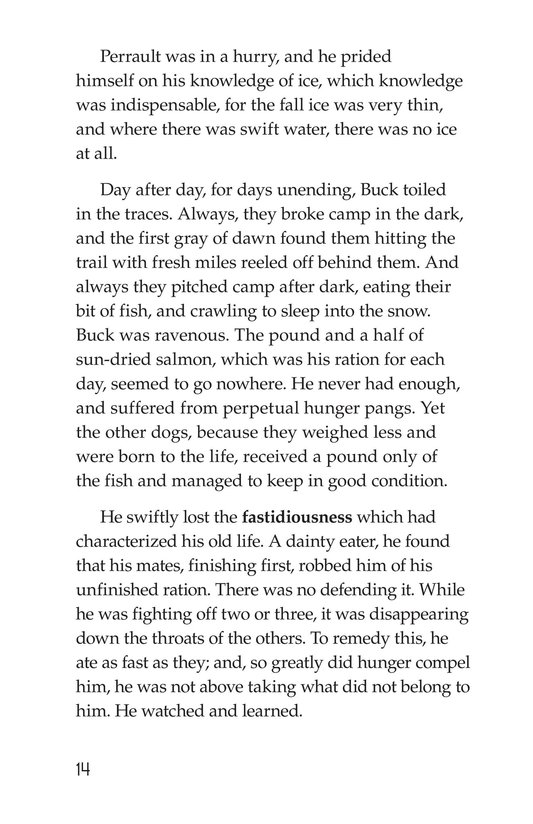 Book Preview For The Call of the Wild (Part 2) Page 14